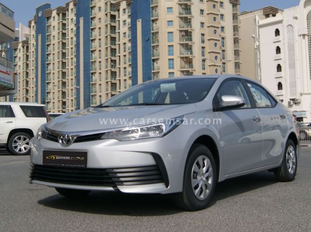2019 Toyota Corolla Xli 1 6 For Sale In Qatar New And Used Cars