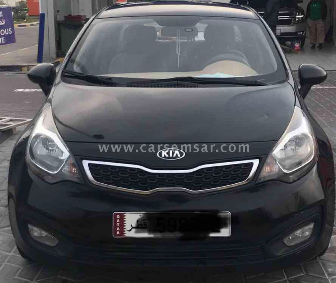 2014 Kia Rio 1 4 for sale in Qatar - New and used cars for