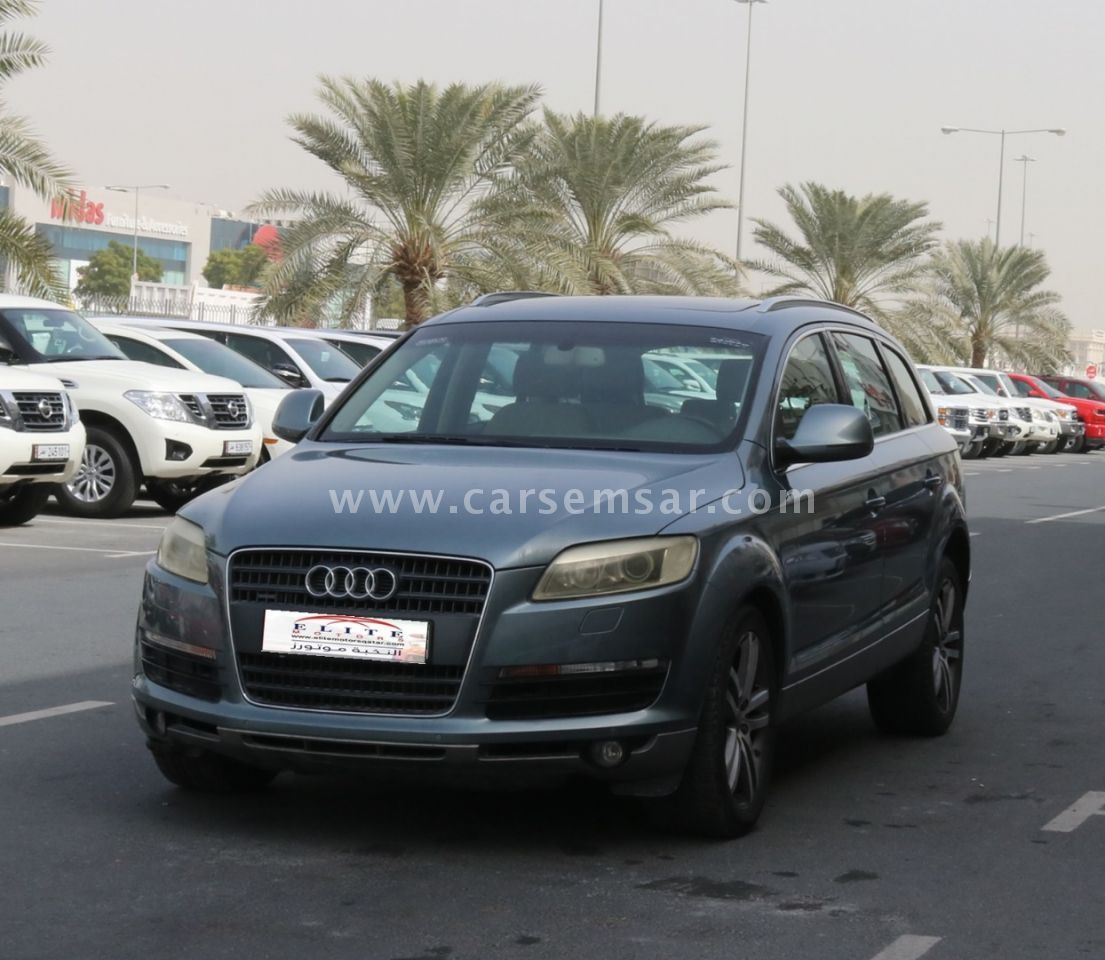 2007 Audi Q7 4.2 FSi Quattro For Sale In Qatar