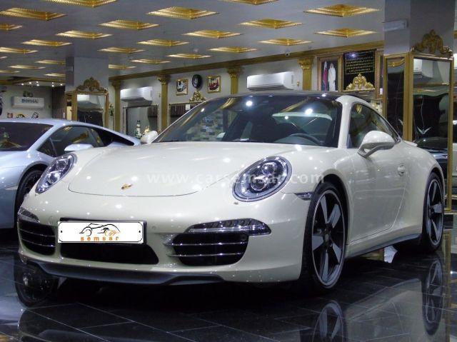 2014 Porsche 911 Carrera Limited Edition 50