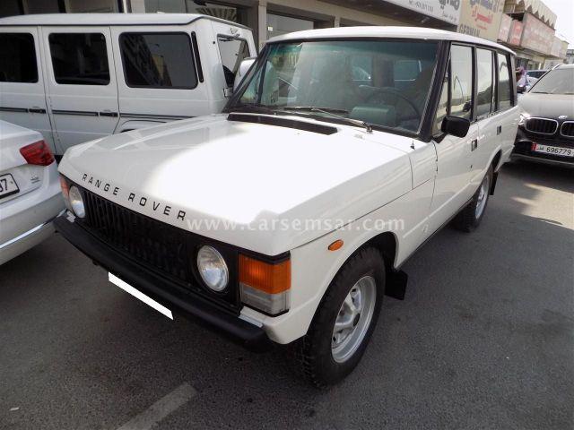 1982 Land Rover Range Rover Vogue