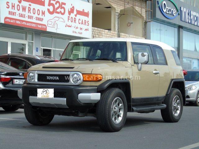2013 Toyota FJ Cruiser 4x4