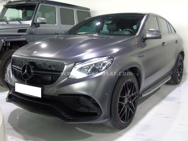 2016 Mercedes-Benz GLE Class 63 S AMG