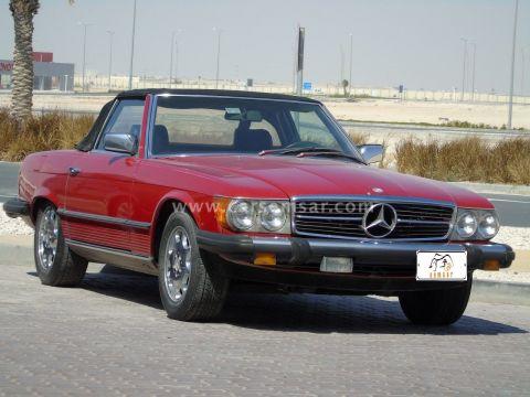 1985 مرسيدس بنز الفئه SL 380