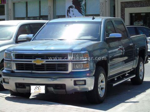 2014 Chevrolet Silverado Crew Cab LTZ