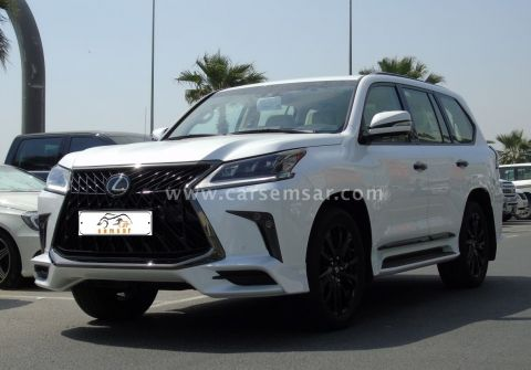 2019 Lexus LX 570 Black Edition Sport for sale in Qatar