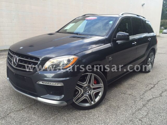2014 Mercedes-Benz ML-Class ML 63 AMG
