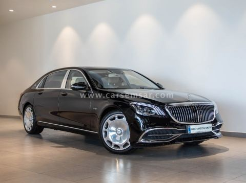 2019 Mercedes-Benz S-Class S 650 Maybach
