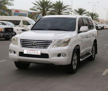 2010 لكزس ال اكس 570