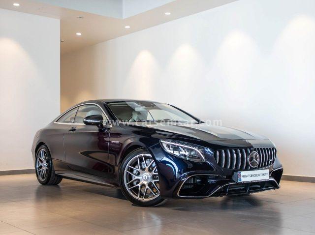 2019 Mercedes-Benz S-Class S 63 AMG