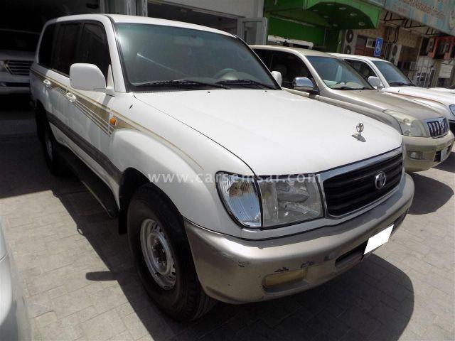 2001 Toyota Land Cruiser VXR