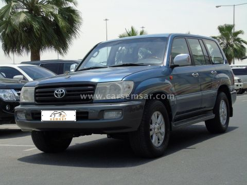 2006 Toyota Land Cruiser GXR