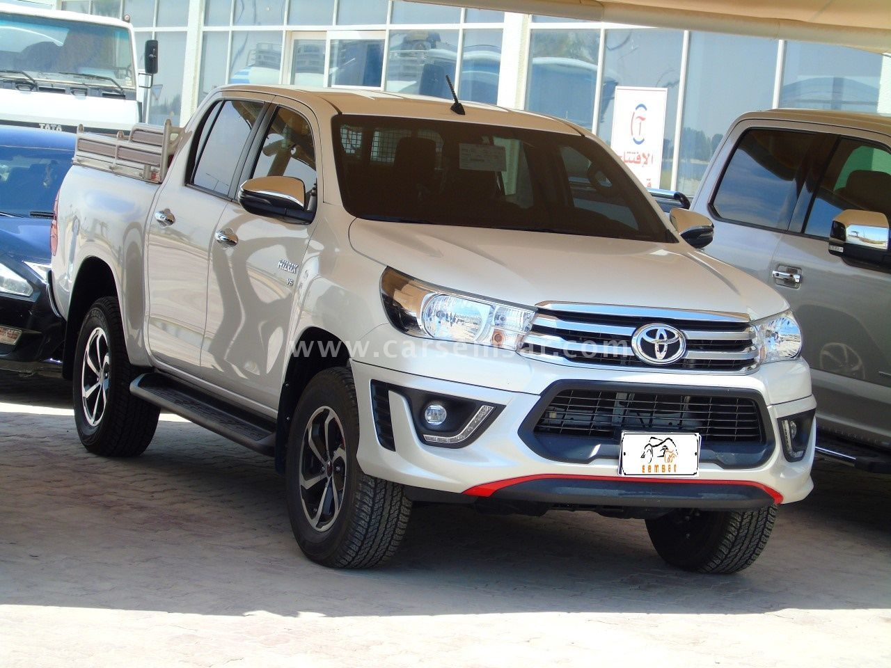 2018 Toyota Hilux 4 0 4x4 TRD for sale in Qatar - New and