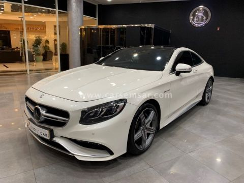 2015 Mercedes-Benz S-Class S 63 Coupe