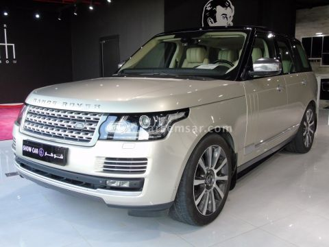 2013 Land Rover Range Rover Vogue Supercharged SE