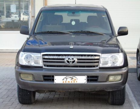 2001 Toyota Land Cruiser VXR