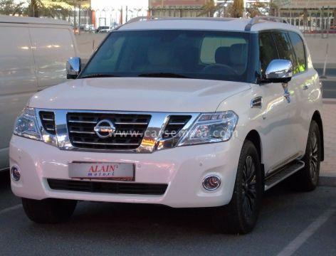 2014 Nissan Patrol Platinum LE