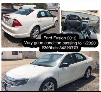 2012 Ford Fusion 2.2 SE