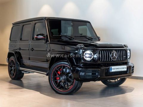 2019 Mercedes-Benz G-Class G 63 AMG Edition One