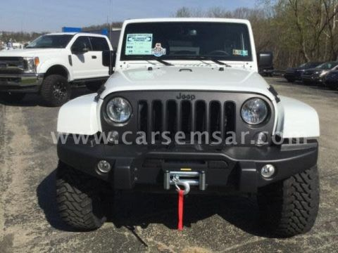 2018 Jeep Wrangler 3.8 Unlimited X