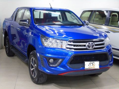 2019 Toyota Hilux 4.0 V6 Double Cab 4x4 Raider