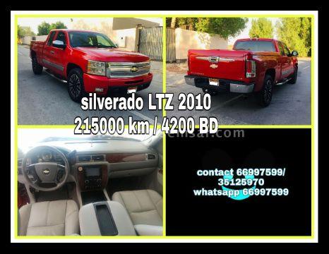 2010 Chevrolet Silverado Crew Cab LTZ