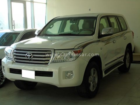 2013 Toyota Land Cruiser VXR