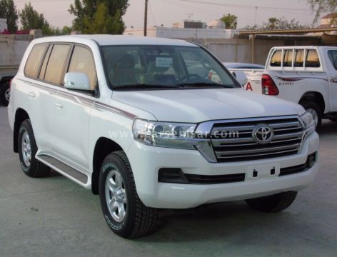 2020 Toyota Land Cruiser GXR