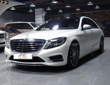 2014 مرسيدس بنز الفئه S 500
