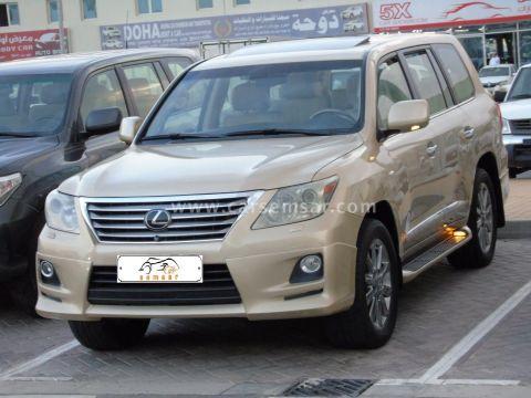 2011 لكزس ال اكس 570