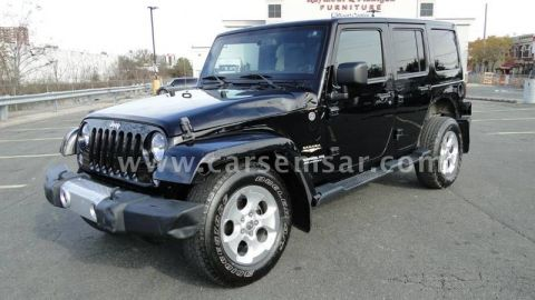 2014 Jeep Wrangler 3.8 Unlimited Sahara