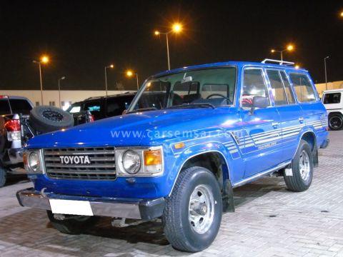 1984 تويوتا لاند كروزر 4x4