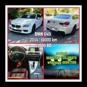 2014 BMW 6-Series 640i