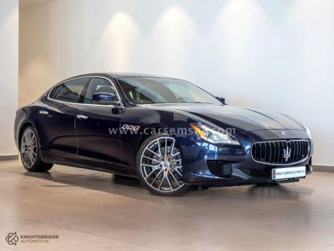 2014 Maserati Quattroporte GT S