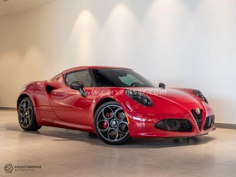 2015 Alfa Romeo 4 C