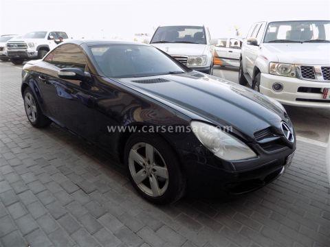 2006 مرسيدس بنز الفئه SLK 280