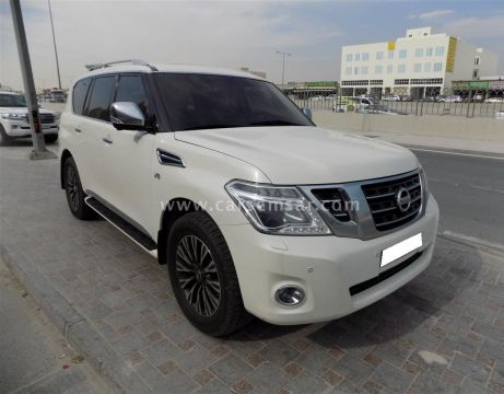 2014 Nissan Patrol Platinum For Sale In Qatar New And Used Cars For Sale In Qatar
