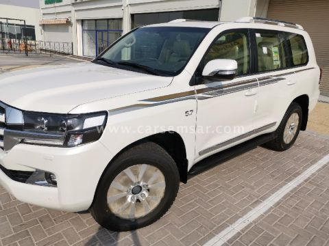 2018 Toyota Land Cruiser VXR White Edition