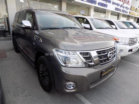 2015 Nissan Patrol Platinum