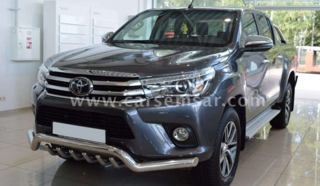 2018 Toyota Hilux 2.4 4x4 Diesel