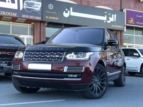 2016 Land Rover Range Autobiography SV