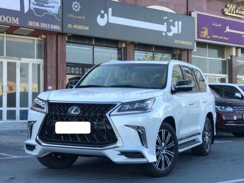 2018 Lexus LX 570 Sport