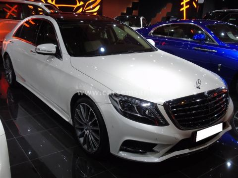 2016 Mercedes-Benz S-Class S 500