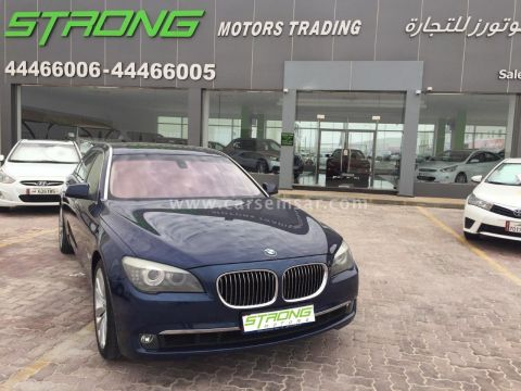 2012 BMW 7-Series 740 Li V6