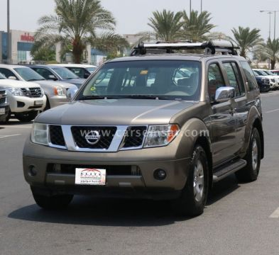 2007 Nissan Pathfinder SE 4x4