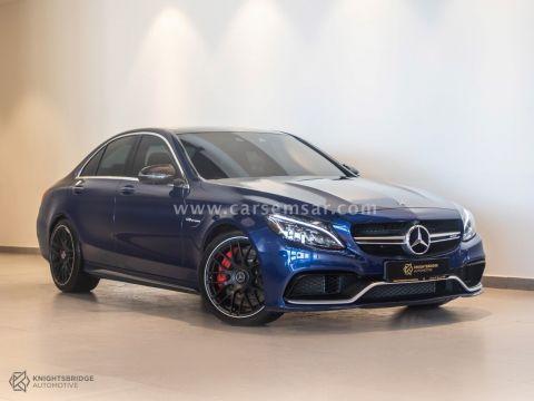 2018 Mercedes-Benz C-Class C 63S
