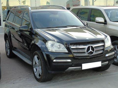 2012 مرسيدس بنز الفئه GL 500