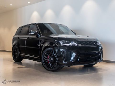 2018 Land Rover Range Sport Urban SVR