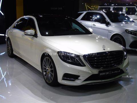 2015 مرسيدس بنز الفئه S 400 V6