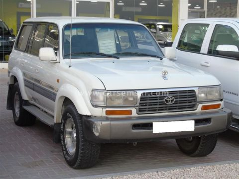 1997 Toyota Land Cruiser VXR